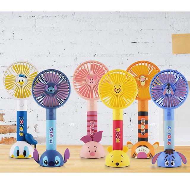 迪士尼輕巧手持USB風扇造型系列