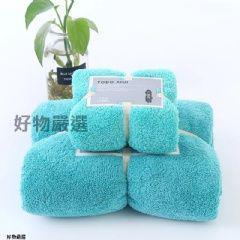 《預購》 珊瑚絨子母浴巾套組