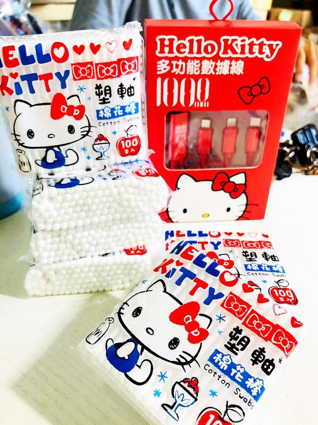 Kitty_塑軸棉花棒