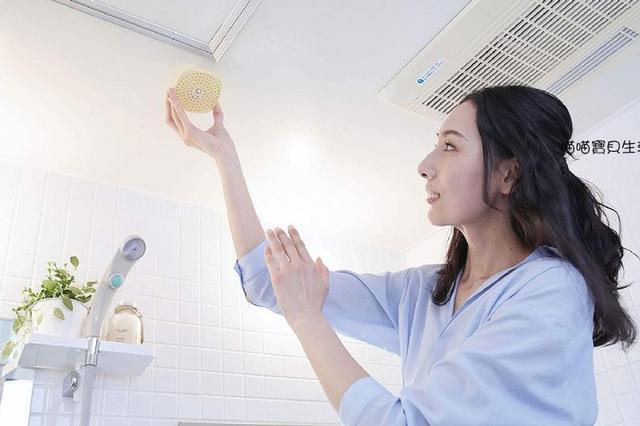 日本製 BIO 珪藻土 可掛式 浴室防霉消臭盒二枚入~消臭 抗菌 防霉