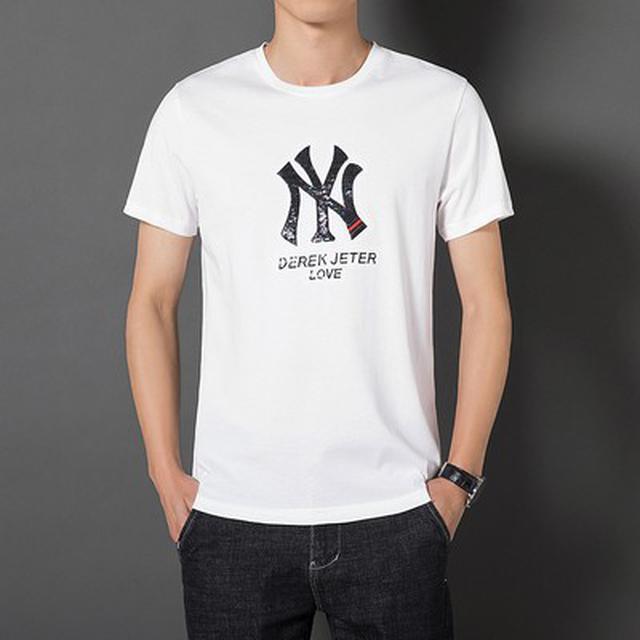 06 S-4XL 優質潮字母短袖T恤(3色)