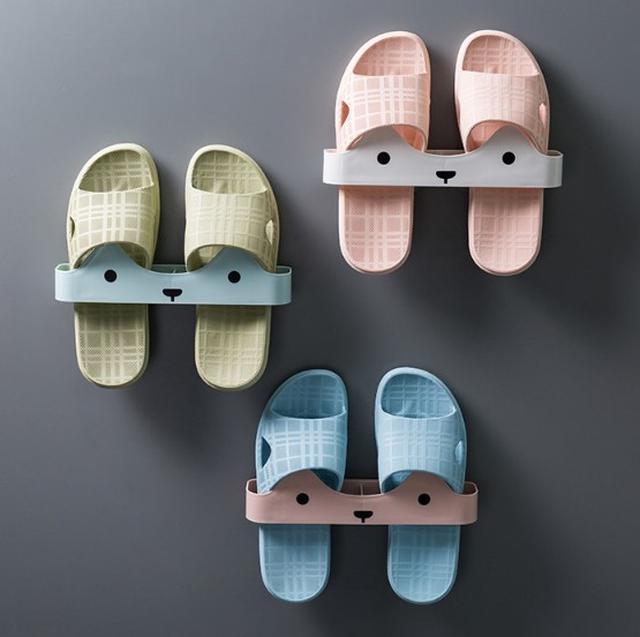 【預購】壁掛式免打孔鞋架