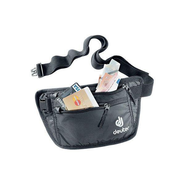 Deuter安全錢包腰包(黑色) (4046051068411)