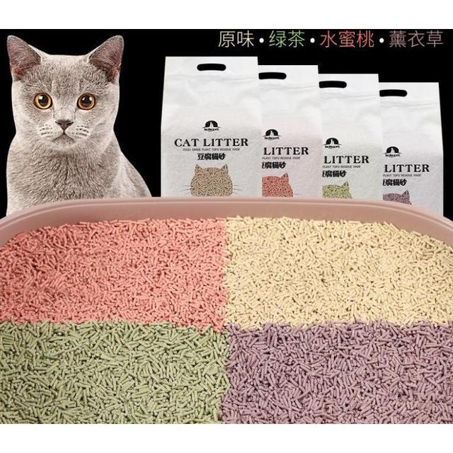 (預購)豆腐貓砂6L可降解植物貓砂