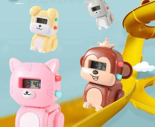 (預購S) G427 - 兒童可愛動物變形電子手錶