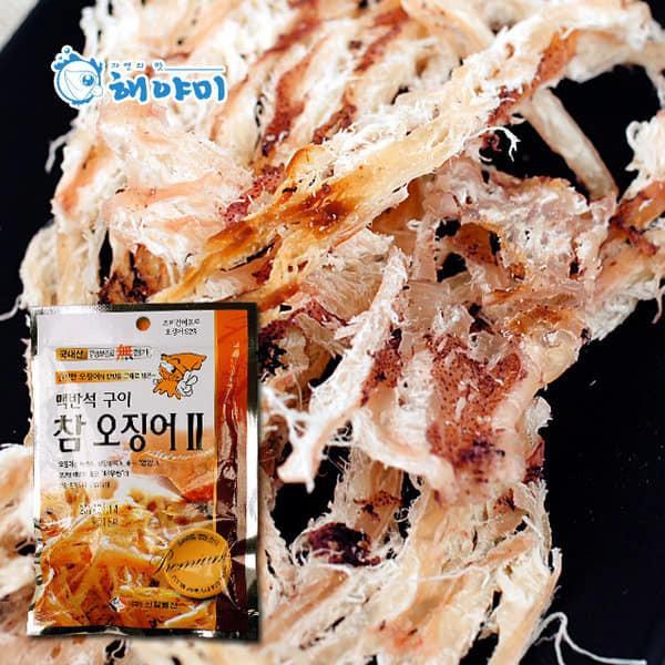 預購~韓國 HAEYAMI 燒魷魚絲 5包/組