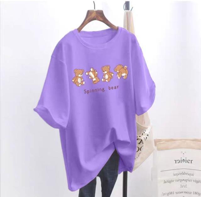 ✓預購✓夏季 韓國中長款寬鬆t恤