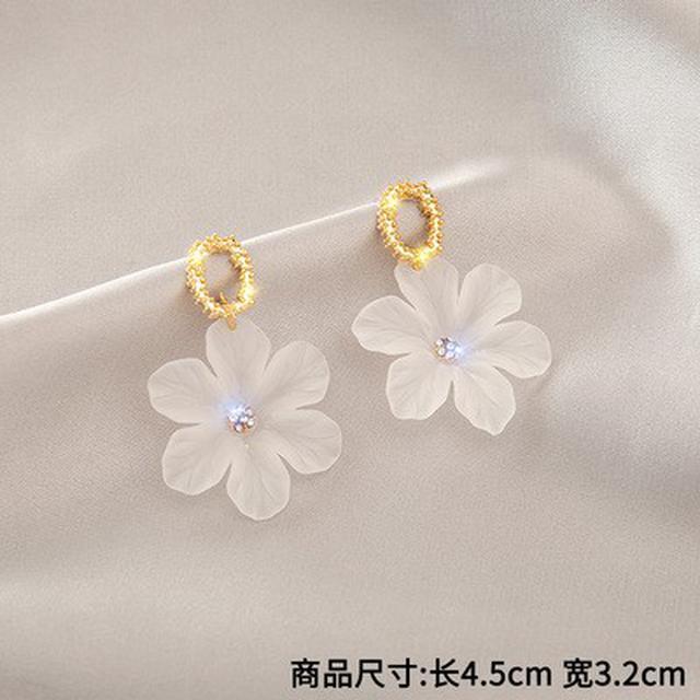 預購~韓國網红耳環氣質耳釘長款爆款流蘇耳飾品(平1-2)