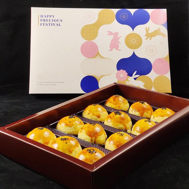 鮮手作蛋黃酥禮盒(12入)