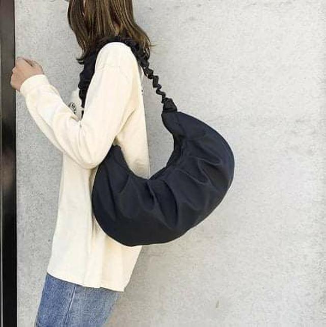 (預購S) - 彈簧圈背帶大容量水餃包
