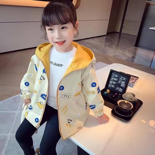 🔹秋裝女童卡通外套(可以兩面穿‼️)