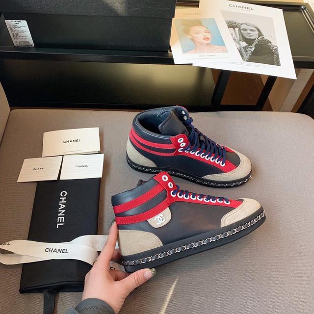 原單品質 CHAMEL 2020早春新款运动鞋,原版定制码数:35-40(40不退不换)三色可选
