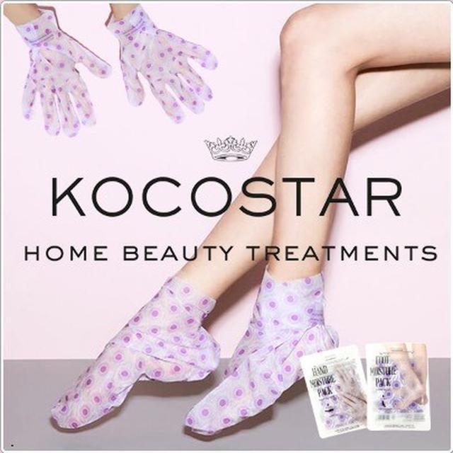 廠現 韓國 KOCOSTAR 可可星保濕手膜、足膜 (1雙入) 腳膜