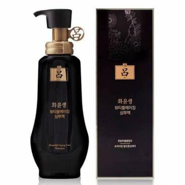 韓國 Ryo 呂 頂級系列 何潤生極篸潤黑洗髮乳 350ml