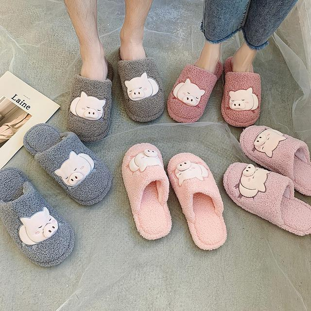 預購-棉拖鞋女冬季保暖居家ins可愛時尚