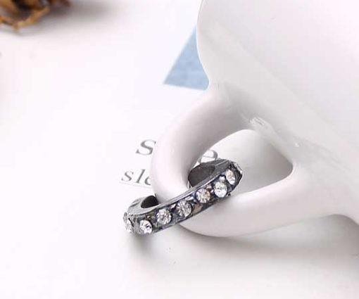 個性經典♥閃亮之星♥指節戒-黑(15.5)【1組3入】