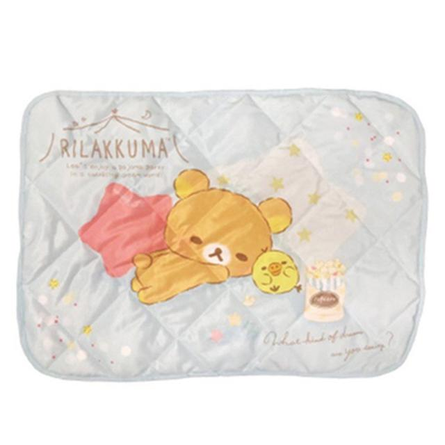 🇯🇵日本 接觸冷感 拉拉熊 涼感枕頭套