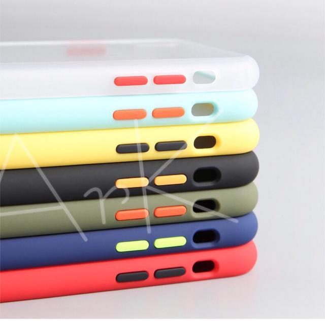 TPU 磨砂 手機保護殼  撞色款