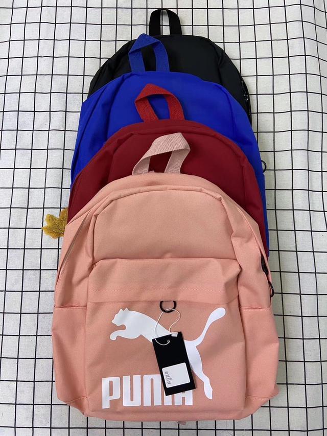 彪马学生书包男PUMA新款双肩包女旅行大容量校园拼色潮牌电脑背包