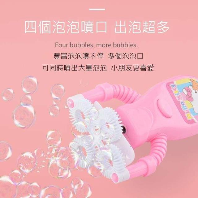 (預購S) 卡通風扇自動電動泡泡機