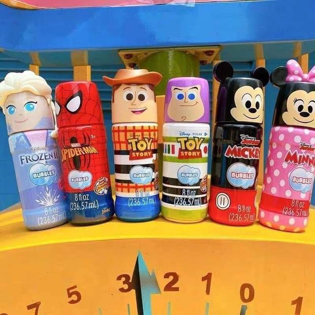Disney迪士尼泡泡水236ML (3瓶隨機)