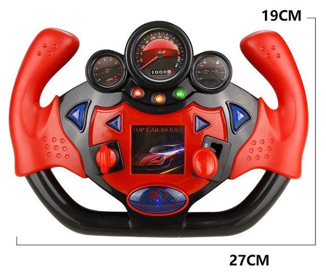 模擬副駕駛座方向盤