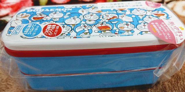 OSK  哆啦A夢兩層便當盒附筷子