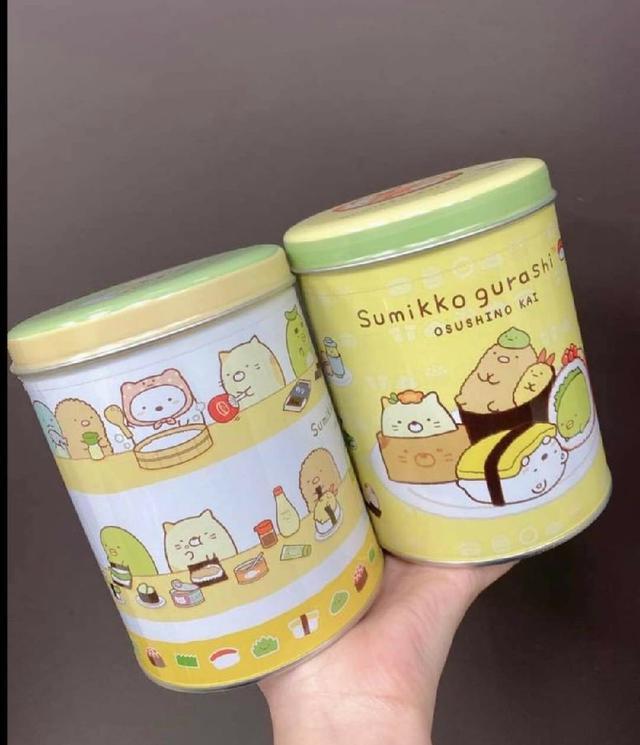 角落小夥伴/角落生物Sumikko Gurash-日式綜合米果禮盒附提繩/2罐入】