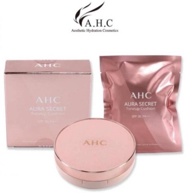 A.H.C AURA SECRET秘密提亮水光素顏氣墊