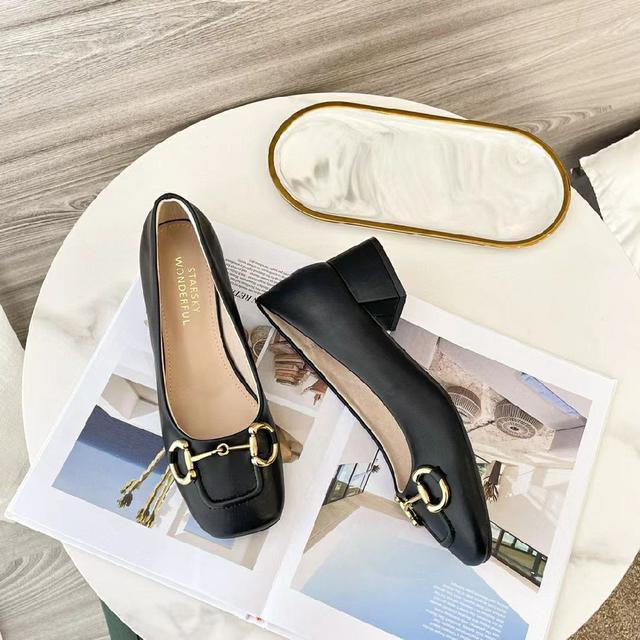 688-5牛皮單鞋 07