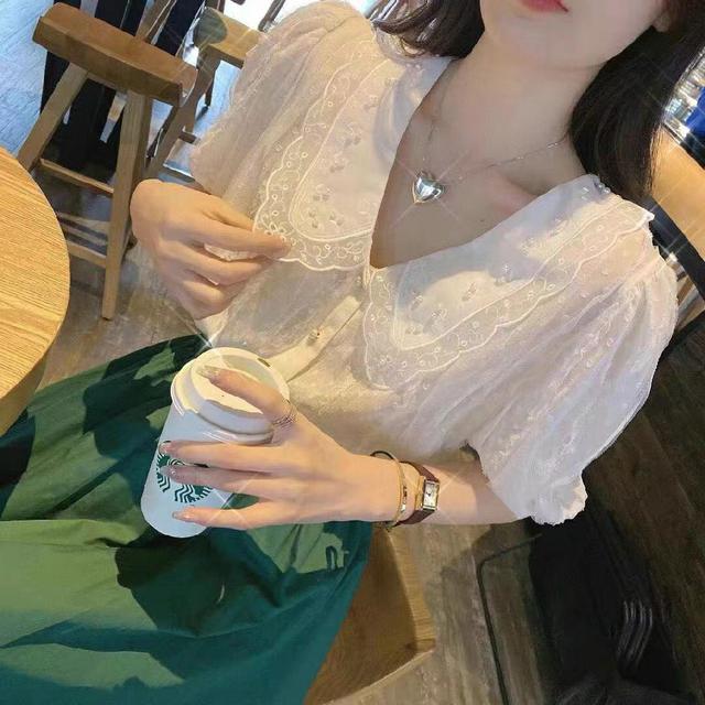 韓國蕾絲綠套裝