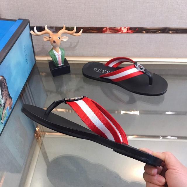 GUCCI.古奇拖鞋系列:男鞋高端品牌 官網1:1最新力作:原版開模定制,升級版大底,更輕便,防滑。