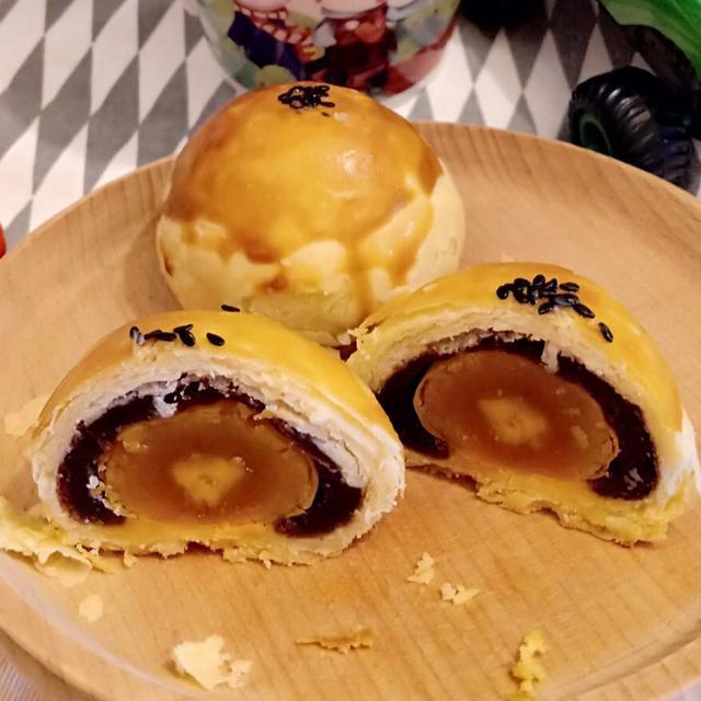 🌺如意饌🌺經典手作烏豆沙蛋黃酥(6入禮盒)