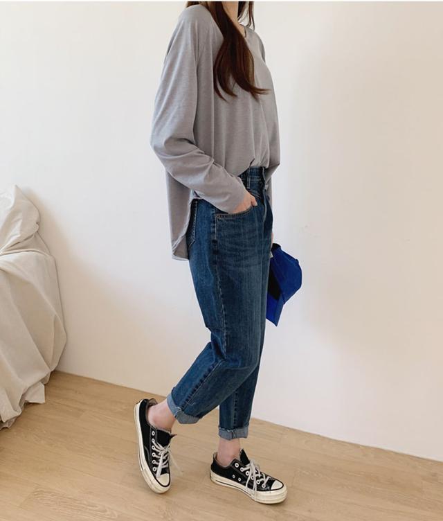 正韓-牛仔褲