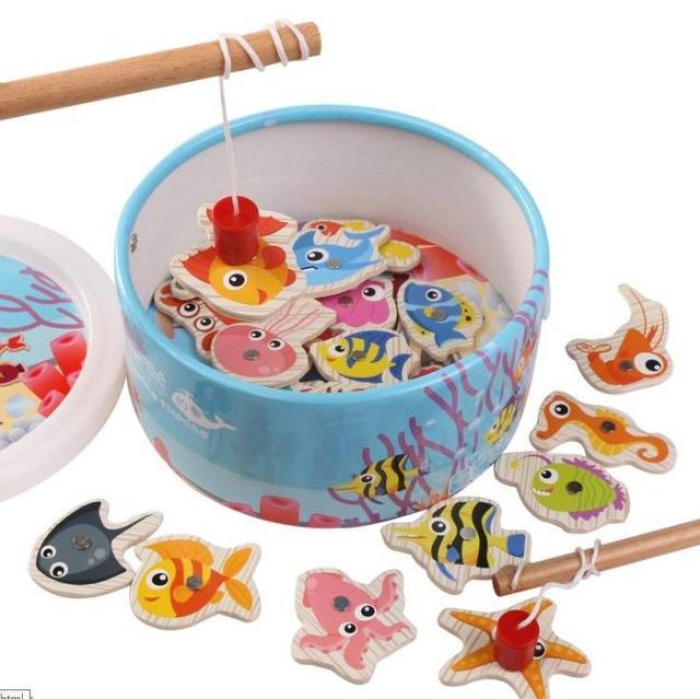 專屬親子互動樂🆕️一起來釣魚🐟益智玩具