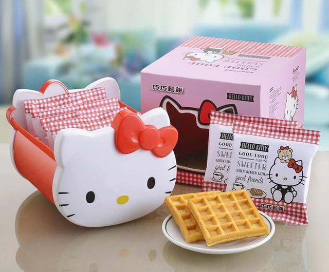 正版授權Hello Kitty巧巧鬆餅禮盒/1盒