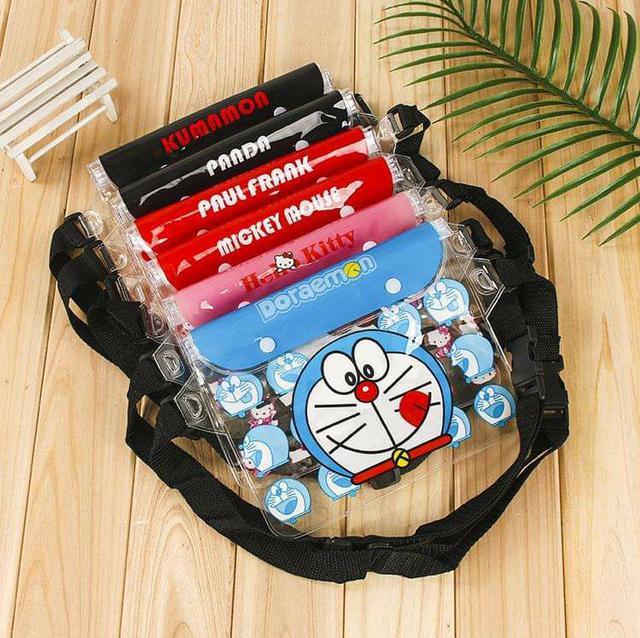 (預購S) G400 - 卡通腰包型手機三層封條防水袋
