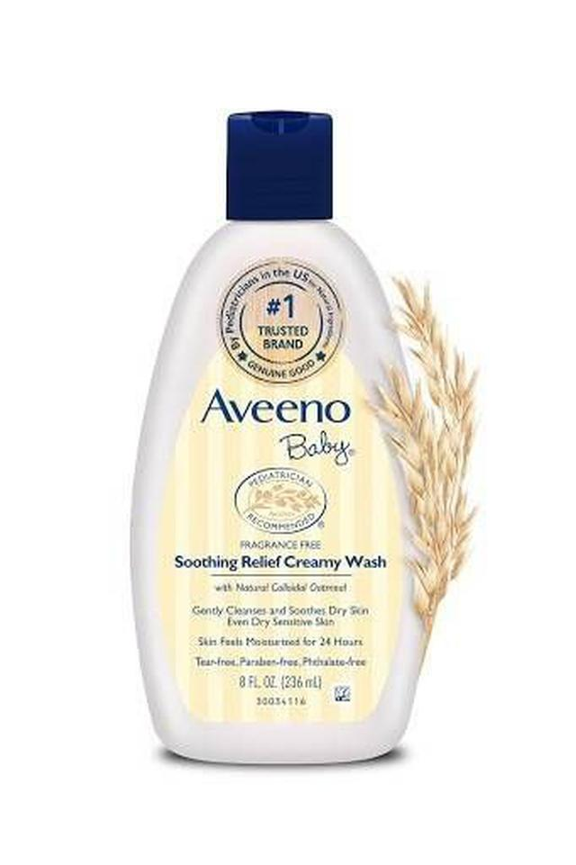 澳洲 Aveeno 艾維諾 純天然燕麥嬰兒舒緩保濕沐浴乳 236ml