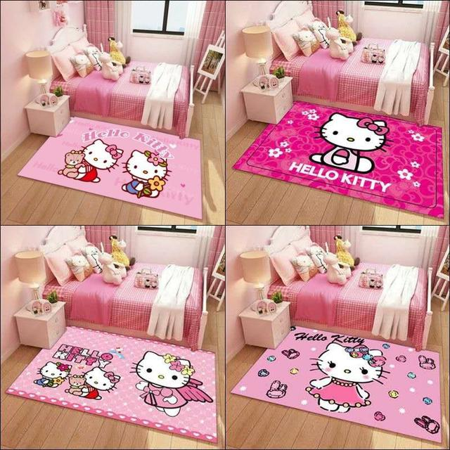 預購可愛粉色女孩兒童房地毯(S)