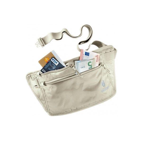 Deuter安全錢包腰包(米色) (4046051068404)
