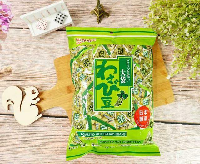 [雜貨店]🔮春日井大袋芥末豆(242g)