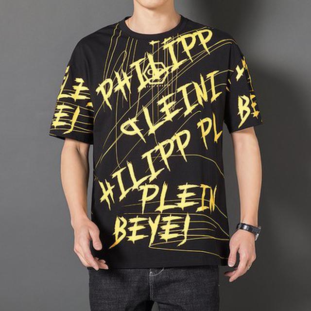 06 S-3XL 優質潮牌印花短袖T恤(3色)