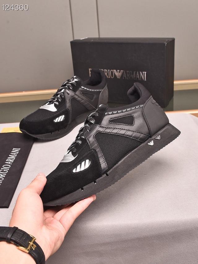 男鞋 頂級原單【阿瑪尼】官網1:1復刻!新款上市🇨🇳同步推薦💯專櫃品質