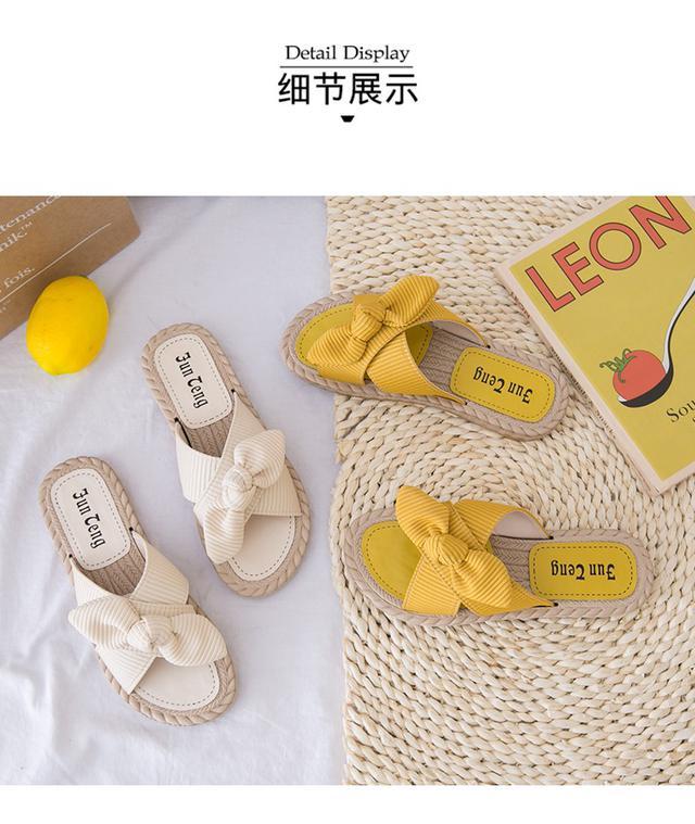 (預購)夏季蝴蝶结凉鞋