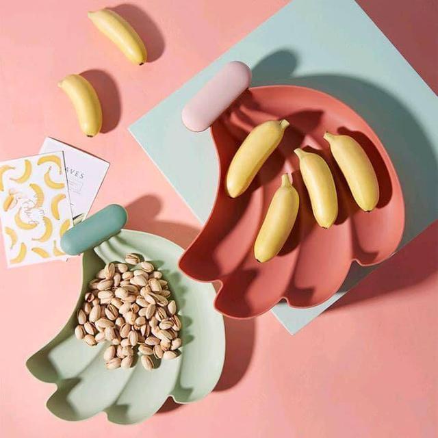 可愛蔬果造型盤(顏色隨機出貨)