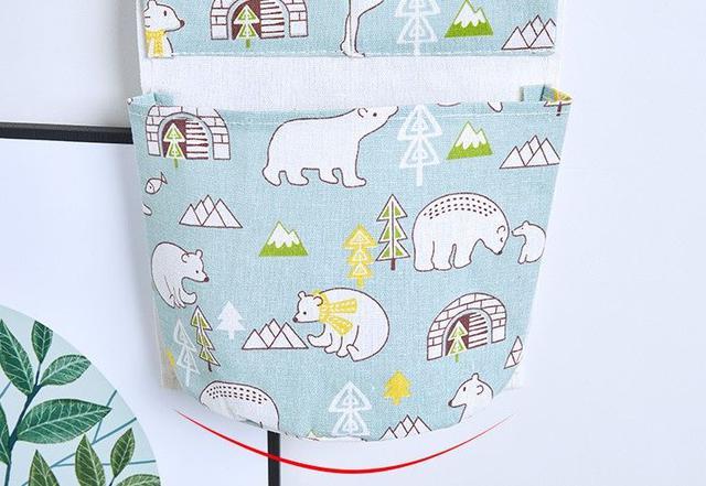 北極熊三格收納掛袋 4款