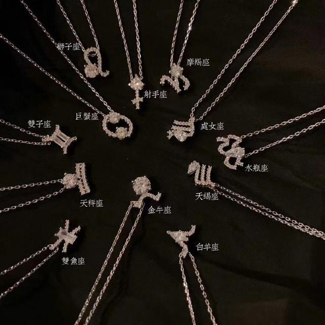 施華洛世奇十二星座項鍊