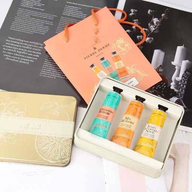 法國馬卡龍護手霜3支裝套盒