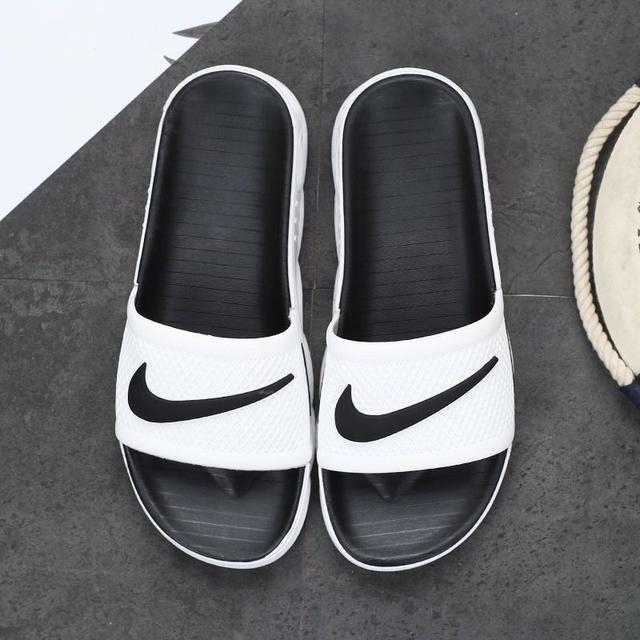 愛迪達防水男女黑色新款氣墊拖鞋 nike拖鞋 adidas拖鞋 愛迪達耐吉拖鞋運動拖鞋浴室拖鞋