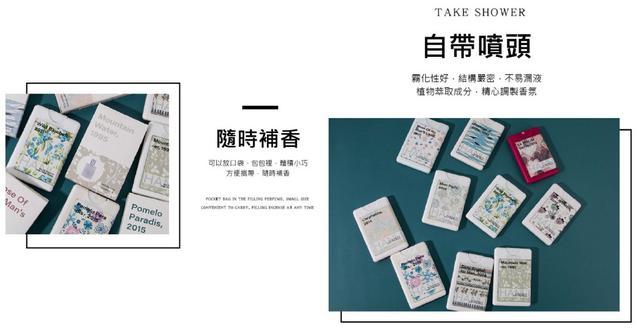 """""""專屬於你的香氣""""便攜卡片型 口袋香水 20ml~持久淡香 隨時補香"""